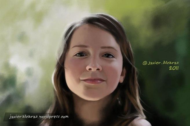 Retrato Ainara - Javier Alcaraz